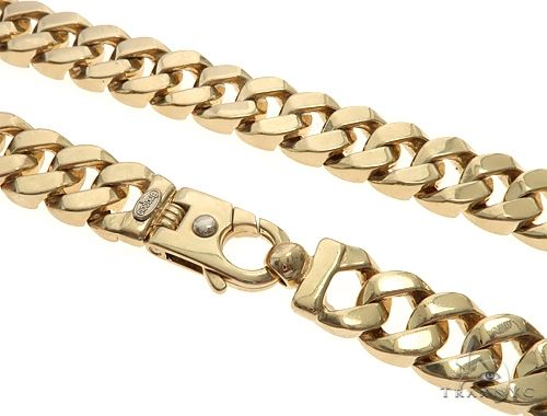 14k Yellow Gold Brachio Chain 65019 Gold