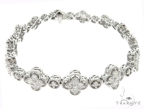 14k White Gold Diamond Bracelet 65025 Diamond