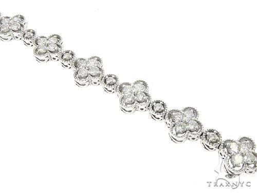 14k White Gold Diamond Bracelet 65025 Diamond