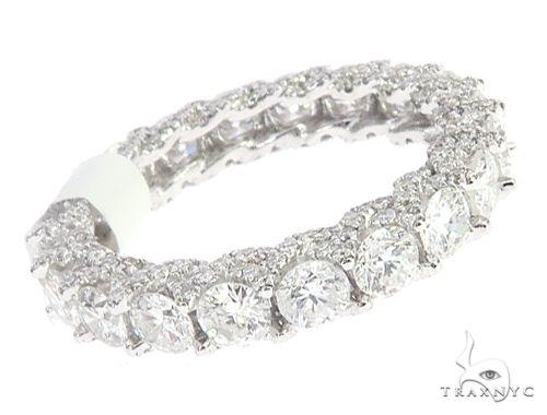 Diamond Engagement Infinity Band 65056 Engagement
