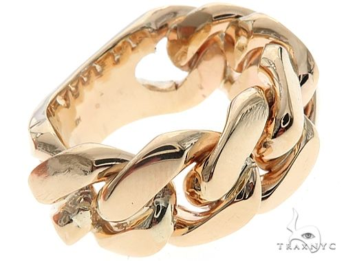 Miami Cuban Link Ring 10mm 65091 Metal