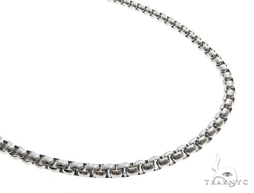Stainless Steel 22 inch Rolo Chain 65120 Stainless Steel