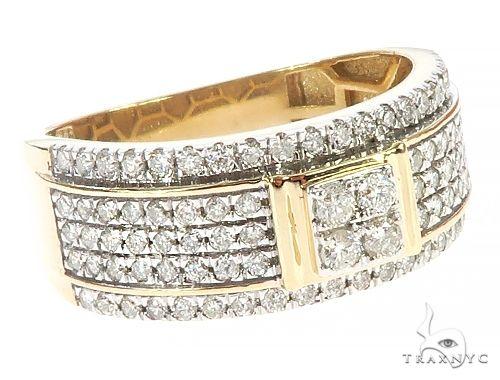 10K Yellow Gold Prong Diamond  Ring 65336 Stone
