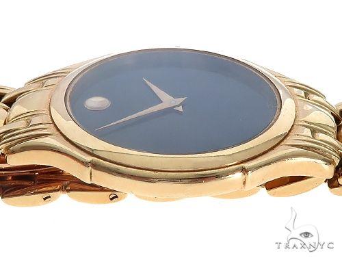 Vintage Movado 14K Solid Yellow Gold Mens Watch 65363 Movado