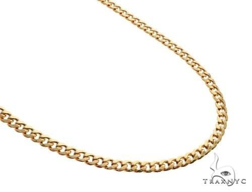 TraxNYC's Best Buy Cuban Link Chain 14K Yellow Gold 22 Inches 4.6mm 13.55 Grams 65365 Gold