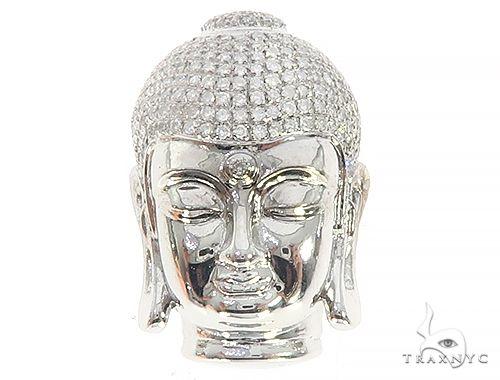 Buddha Diamoond Pendant 44726 Metal