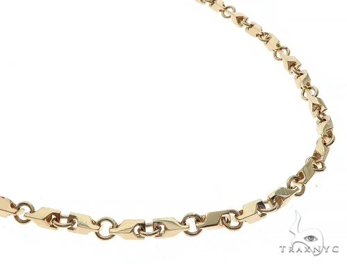 14K Gold Chain 20 Inches 4mm 32.5 Grams 65436 Gold