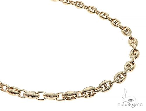 14K Yellow Gold Gucci Chain 30.5 Inches 5mm 62.1 Grams 65440 Gold
