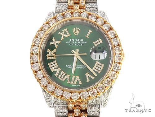 Oyster Perpetual DATEJUST Diamond Rolex Watch 65472