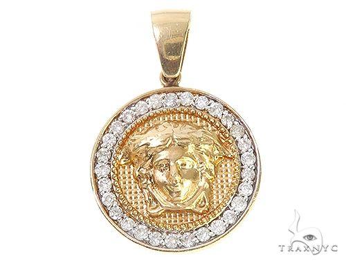 Medusa Diamond Pendant 36467 Metal