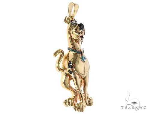 Custom Made Scooby Doo Pendant 65497 Hip Hop Pendants