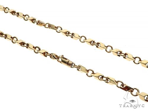 14K Gold Chain 30 Inches 4.5mm 48.6 Grams 41372 Gold