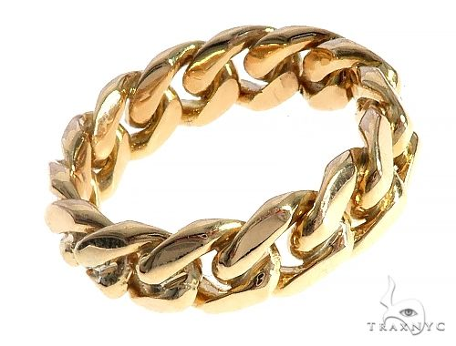 Miami Cuban Link Ring 7.75 mm 65510 Metal