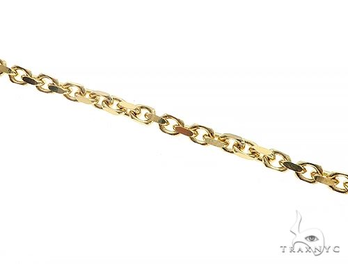 10K Yellow Gold Diamond Cut Solid Anchor Bracelet 8.5 Inches 3mm 8.40 Grams 65554 Gold