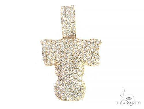 Diamond Initial Letter T Pendant 65576 Style