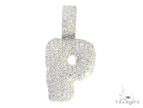 Diamond Initial Letter P Pendant 65579 Style