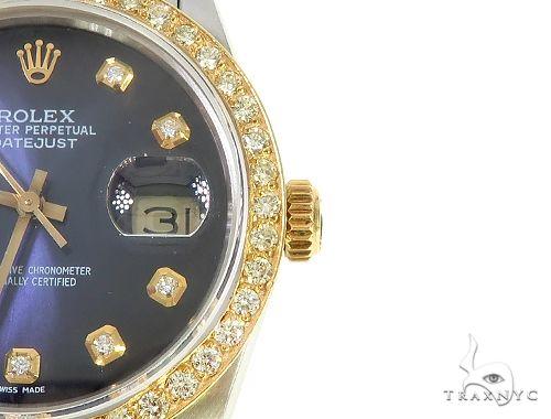 Mens Diamond DateJust Rolex Watch 65639 Diamond Rolex Watch Collection