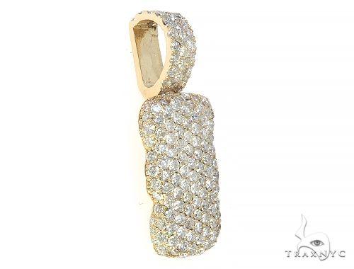 Diamond Initial Letter I Pendant 65641 Style