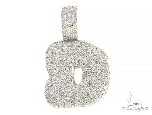 Diamond Initial Letter D Pendant 65642 Style