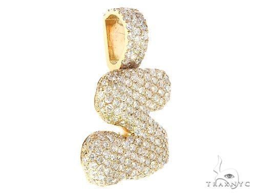 Diamond Initial Letter S Pendant 65644 Style