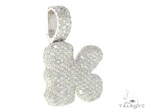 Diamond Initial Letter K Pendant 65645 Style