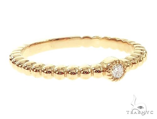 14K Yellow Gold Bazel Ring 65699 Anniversary/Fashion