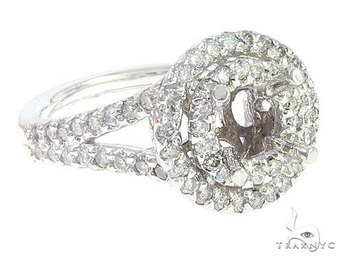14K White Gold Semi Mount Diamond Engagement Rings 65723 Engagement