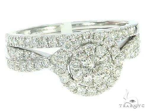 14K Gold Prong Diamond Engagement Ring Set 65738 Engagement
