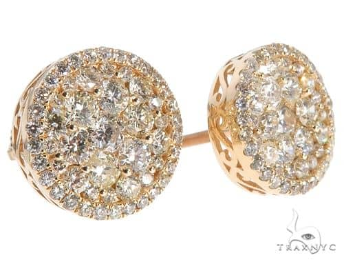 Diamond Stud Earrings 65752 Stone