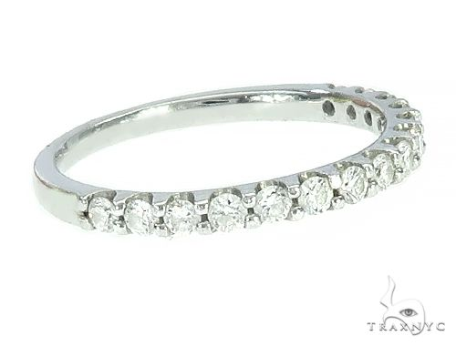 Half-Eternity Diamond Wedding Bend 65791 Engagement