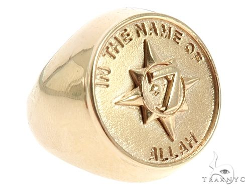 5 Percent Universal Flag Ring 65818 Metal