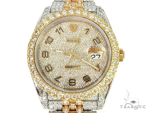 DATEJUST II Diamond Rolex Watch 65964 Diamond Rolex Watch Collection