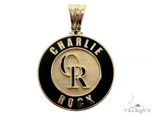 Custom Made Charlie Rock Pendant 65989 Metal