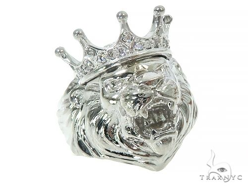 Lion King Diamond Ring 65999 Stone