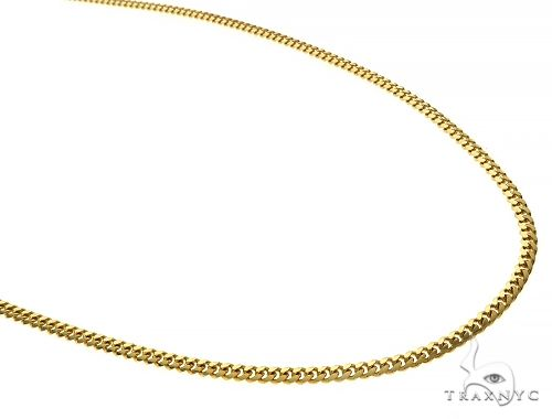 14K Yellow Miami Cuban Link Chain 20 Inches 2.6mm 11.5 Grams 66035 Gold