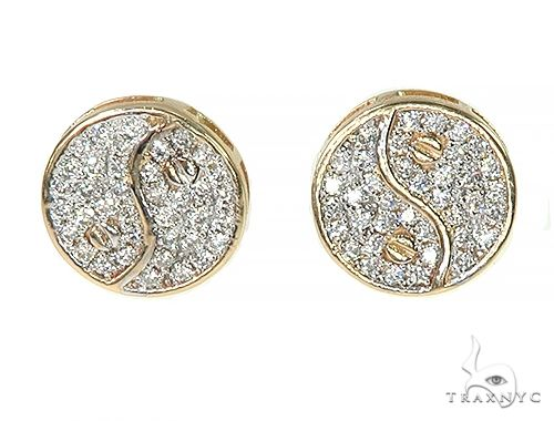 WG Yin & Yang Earrings Stone