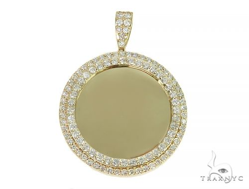 2 Row Diamond Memorial Pendant 66045 Style