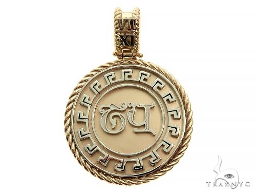 Custom Made TY Name Pendant 66070 Metal