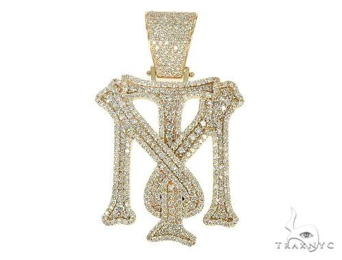 Custom Made TM Diamond Pendant 66084 Metal