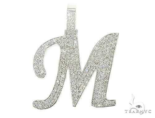 Frozen Initial M Pendant 66091 Metal