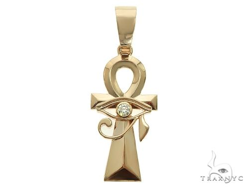 Custom Made Ankh Eye Of Horus Pendant 66104 Metal