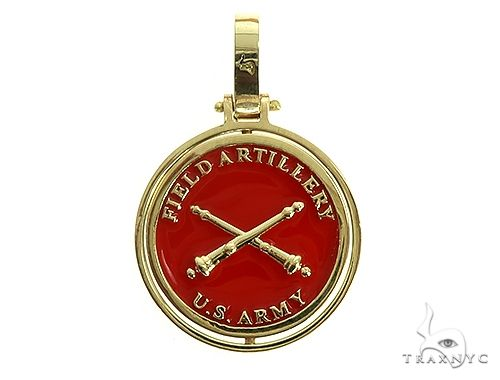 Custom Made US Army Double Pendant 66108 Metal