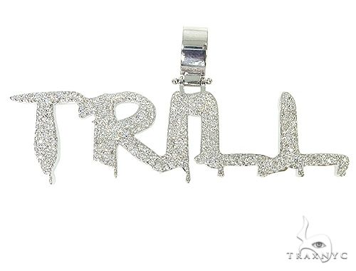 Custom Made Trill Pendant 66124 Silver