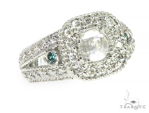14K White Gold Diamond Semi Mount Engagement Ring 66146 Engagement