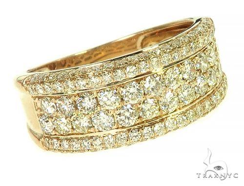 14K Yellow Gold Diamond Ring 66172 Stone