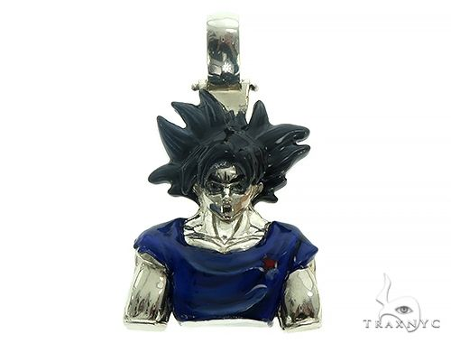 Custom Made Goku Anime Manga Character Pendant 66192 Metal