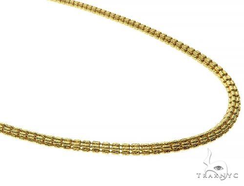 10K Yellow Gold Popcorn Chain 66210 Gold