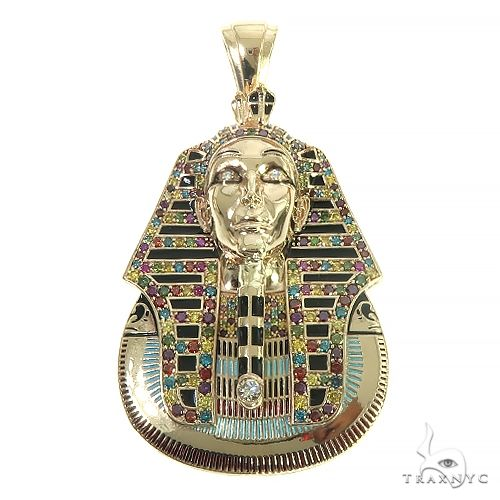 Custom Made Tutankhamun Rainbow Colors Diamond 66385 Metal