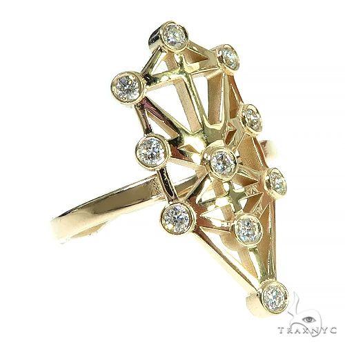 Jewish Tree Of Life Diamond Ring 66408 Anniversary/Fashion