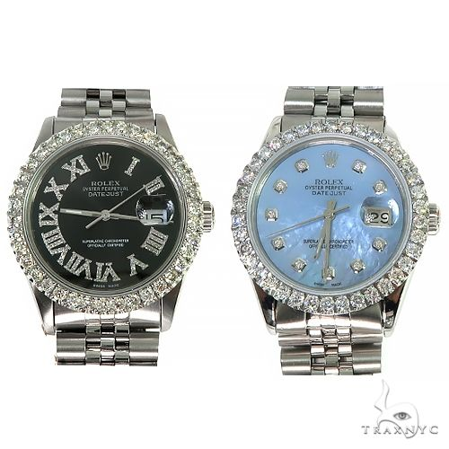 Rolex DateJust 36mm Diamond Bezel Watch 66511 Diamond Rolex Watch Collection